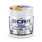 BCAA PRO (2-1-1) + GLUTAMINE 200 G (Порошковые ВСАА + Глютамин 200 г)