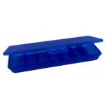 Pill box (Таблетница) синяя эко пластик