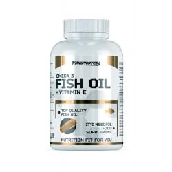 FISH OIL + VITAMINE E, 90 softgels (рыбный жир + витамин Е, 90 гелевых капсул)