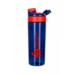 Бутылка 800 мл. «Лорелит», синяя бутылка с красным логотипом
