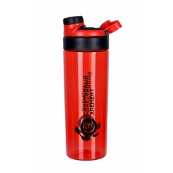 Бутылка 800 мл. «Рубин», красная бутылка с черным логотипом