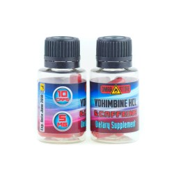 Yohimbine HCL & Caffeine DMAA STORE 10 cap, йохимбин и кофеин 10 капсул