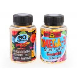 Omega-3 Fish Oil DMAA STORE 60 капсул,  Омега-3 Рыбий жир
