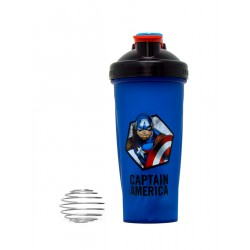 Шейкер 700ml Super Hero Series - Captain America