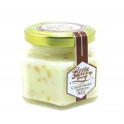 Крем-мёд с кедровыми орехами МЕДОВИК, 100мл