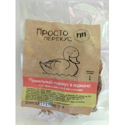 Сушеное мясо утки ПРОСТО ПЕРЕКУС, 40 гр