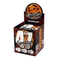 Протеиновое печенье SPORTY Шоколад-Кофе, 65 гр