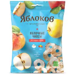 Чипсы из сладких яблок, 25 гр